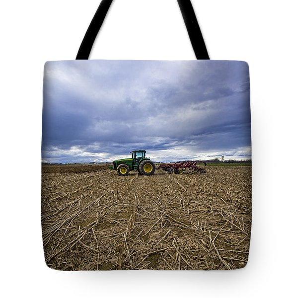 North Fork Tractor Tote Bag