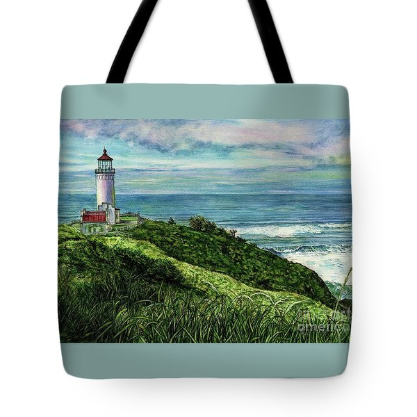 North Head Lighthouse And Beyond Tote Bag