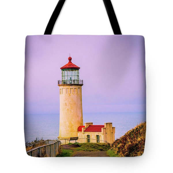 Tote Bag featuring the photograph North Head Lighthouse by Bryan Carter