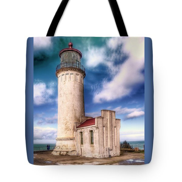 North Head Lighthouse - Washington Coast Tote Bag