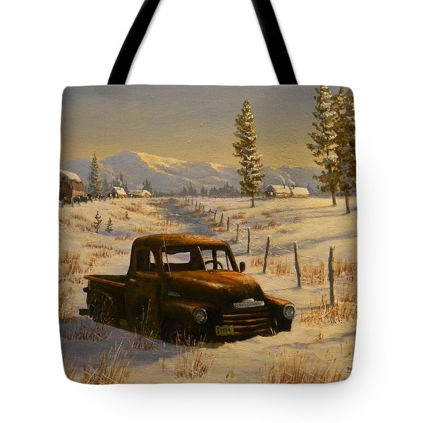 North Idaho Yard Art Tote Bag
