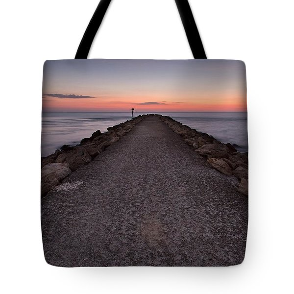 North Jetty Tote Bag