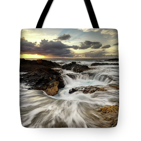 North Kona Coastline Tote Bag