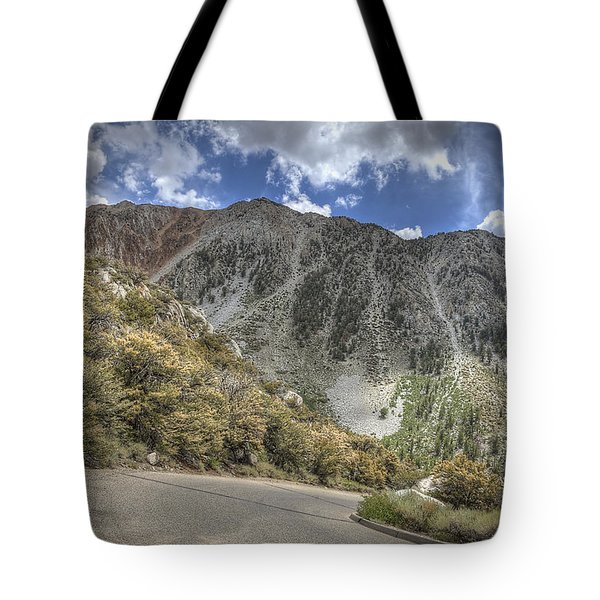 North Lake Road Tote Bag