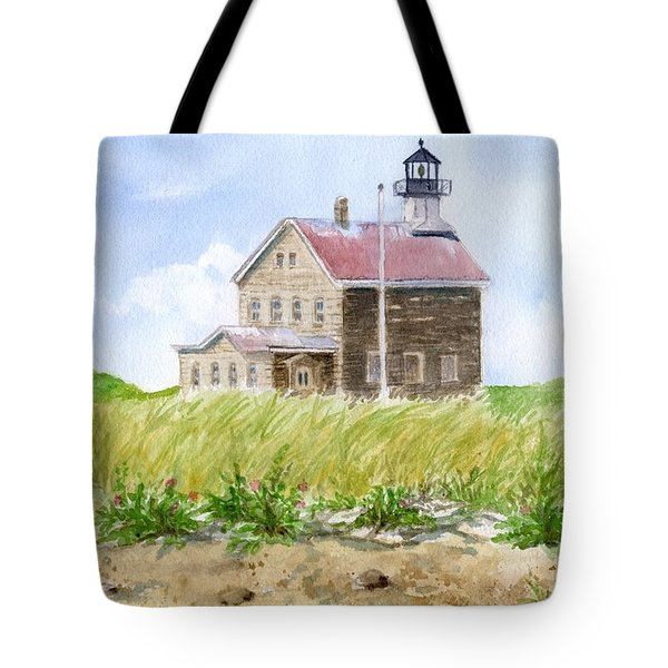 North Light - Block Island Tote Bag