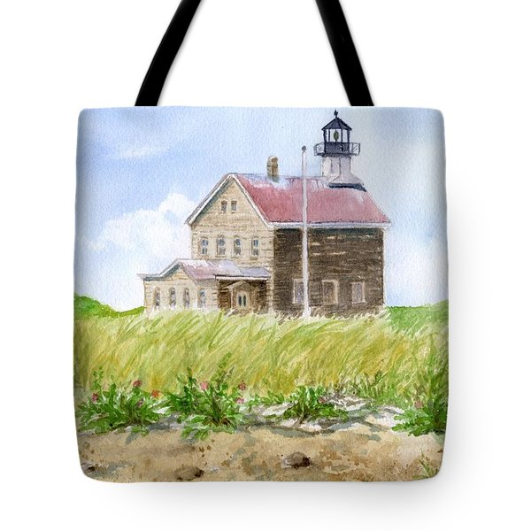 North Light - Block Island Tote Bag