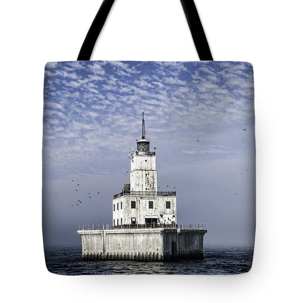 North Manitou Shoal Light Tote Bag