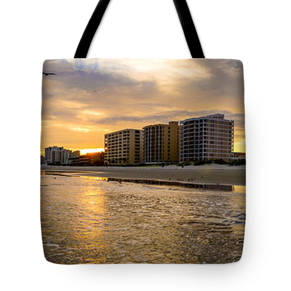 North Myrtle Beach Sunset Tote Bag