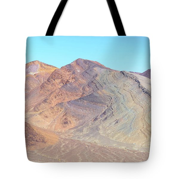 Tote Bag featuring the photograph North Of Avawatz Mountain by Jim Thompson