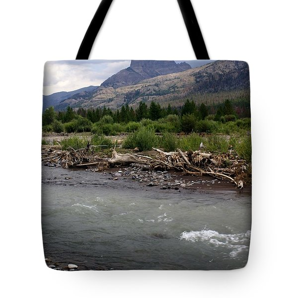 North Of Dubois Wy Tote Bag by Marty Koch