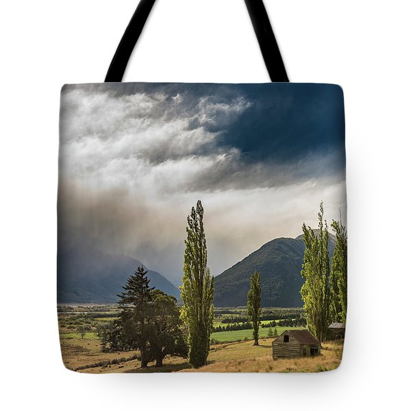 Tote Bag featuring the photograph North Of Glenorchy by Gary Eason