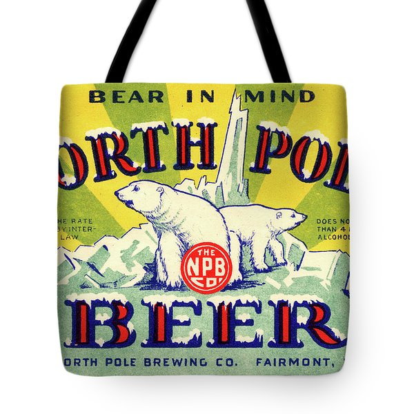 North Pole Beer Tote Bag