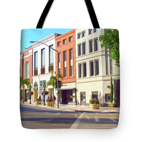 North Rodeo Drive Tote Bag