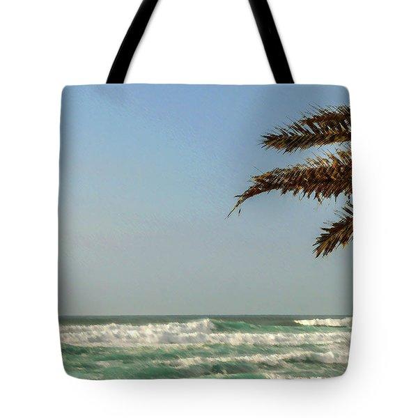 North Shore Waves Tote Bag