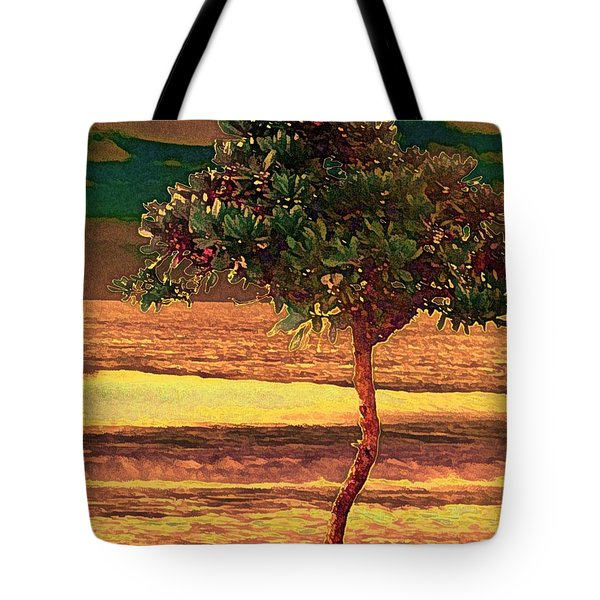 North Shore Gold Tote Bag