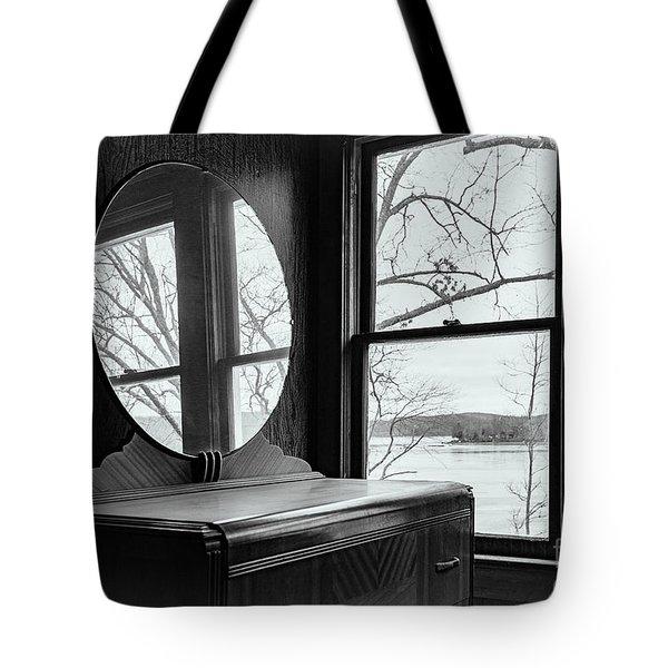 North Shore House Tote Bag by Nicki McManus