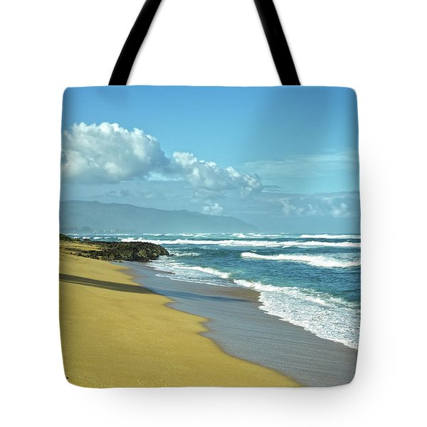 Tote Bag featuring the photograph North Shore Morning by Lars Lentz