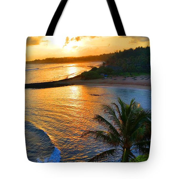 North Shore Of Oahu  Tote Bag by Michael Rucker