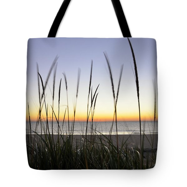 North Shore Sunrise Tote Bag by Birgit Tyrrell