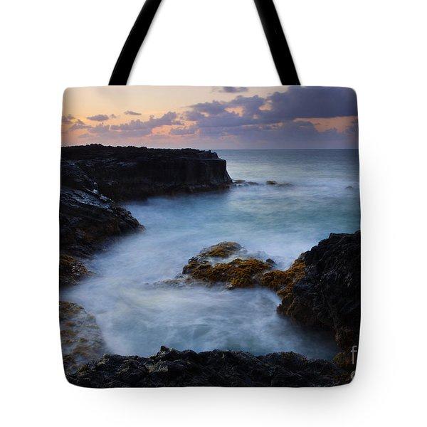 North Shore Tides Tote Bag by Mike  Dawson
