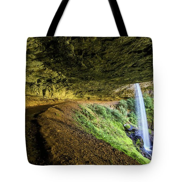 Tote Bag featuring the photograph North Silver Falls Oregon by Pierre Leclerc Photography