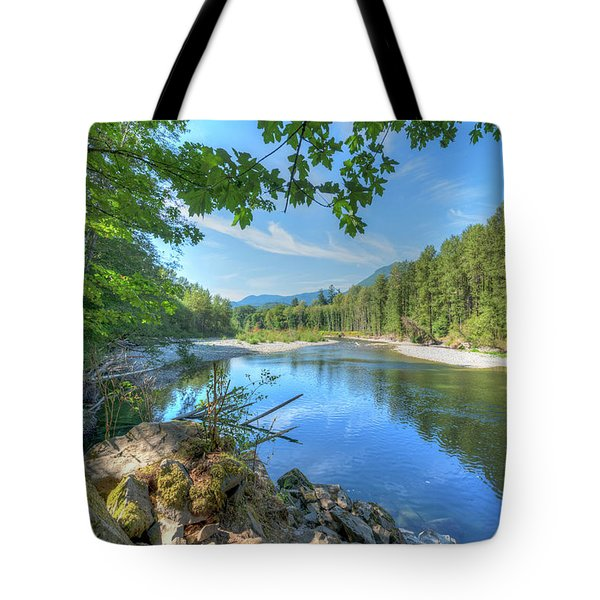 North Stilliguamish River Tote Bag