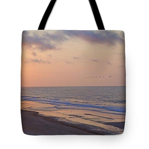 North Topsail Beach Glory Tote Bag by Betsy C Knapp
