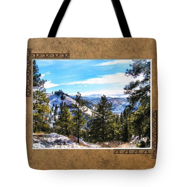 Tote Bag featuring the photograph North View by Susan Kinney