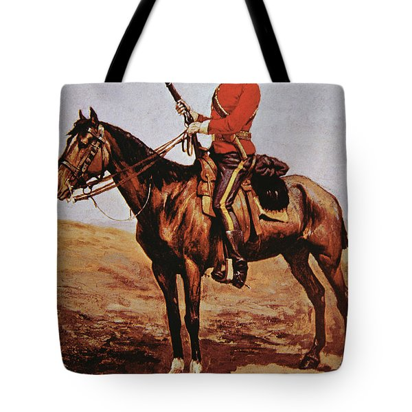 North West Mounted Police Of Canada Tote Bag