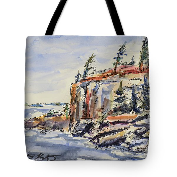 North Wind Tote Bag by Heather Kertzer