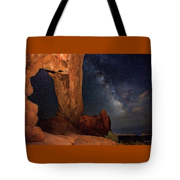 North Window And The Milky Way Tote Bag