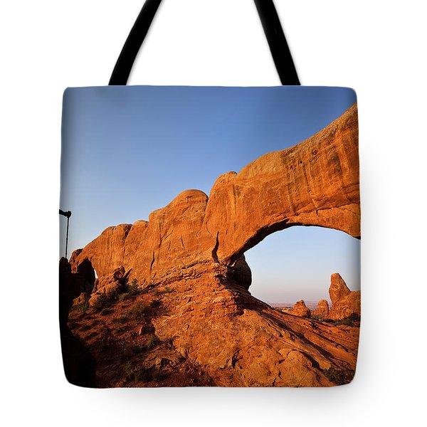 North Window Arch Tote Bag