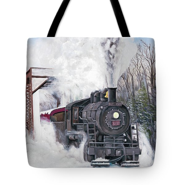 Northbound At 35 Below Tote Bag