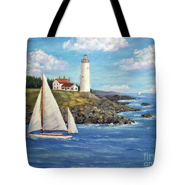 Northeast Coast Tote Bag