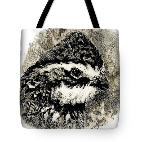 Northern Bobwhite Tote Bag
