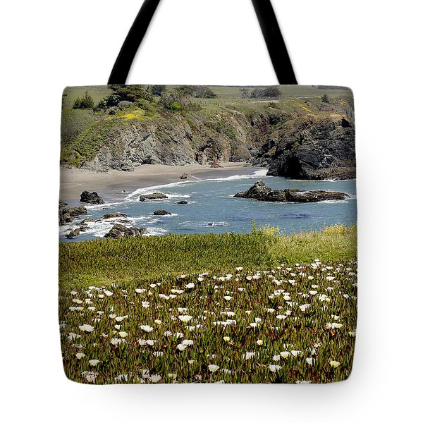 Northern California Coast Scene Tote Bag