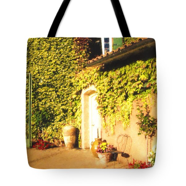 Northern California Winery Tote Bag