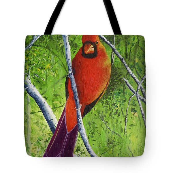 Northern Cardinal 1 Tote Bag