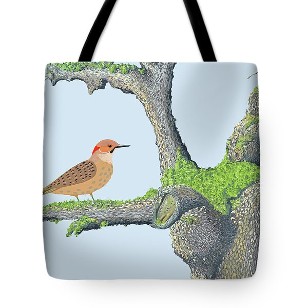 Northern Flicker Tote Bag