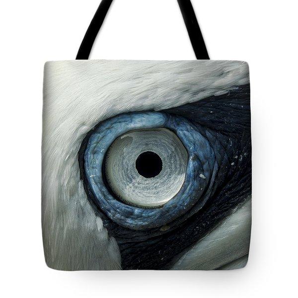 Northern Gannet Eye Tote Bag