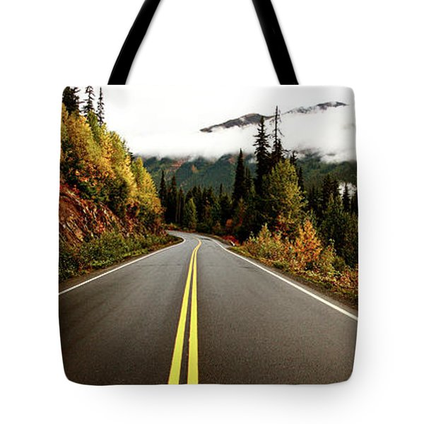Northern Highway Yukon Tote Bag by Mark Duffy
