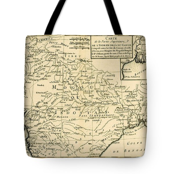 Northern India Tote Bag by Guillaume Raynal