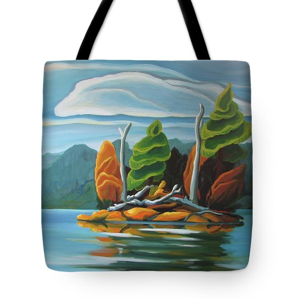 Northern Island Tote Bag