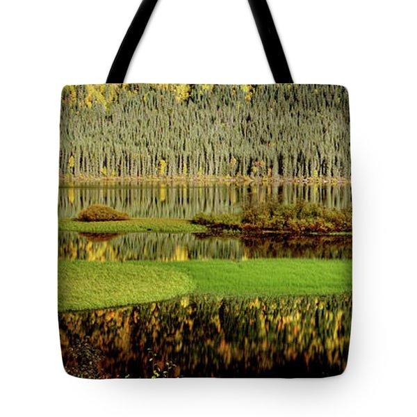 Northern Lake Tote Bag by Mark Duffy