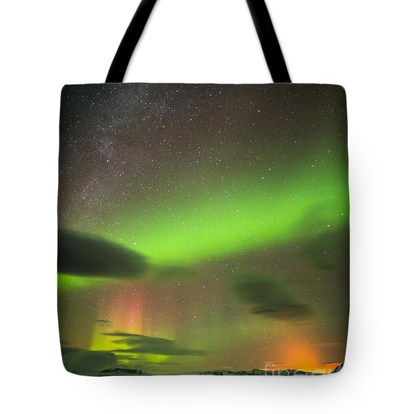 Northern Lights 8 Tote Bag