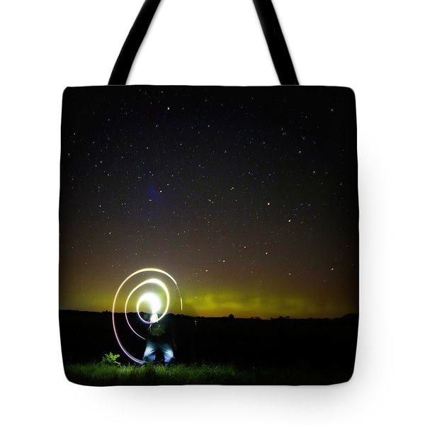 023 - Night Writing Tote Bag