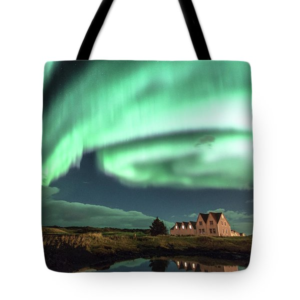 Northern Lights Tote Bag