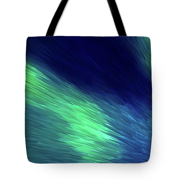 Tote Bag featuring the painting Northern Lights by Gerlinde Keating - Galleria GK Keating Associates Inc
