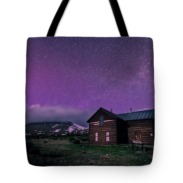 Northern Lights On Boreas Pass Tote Bag