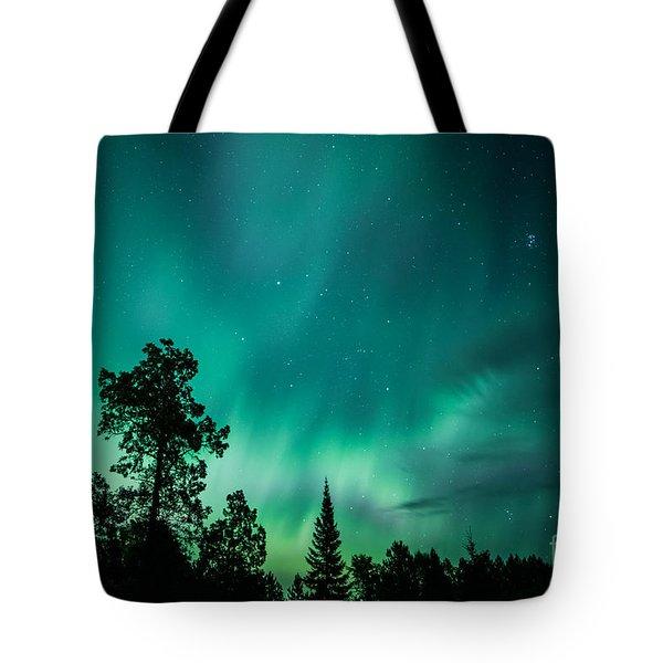 Northern Lights Tonight Tote Bag